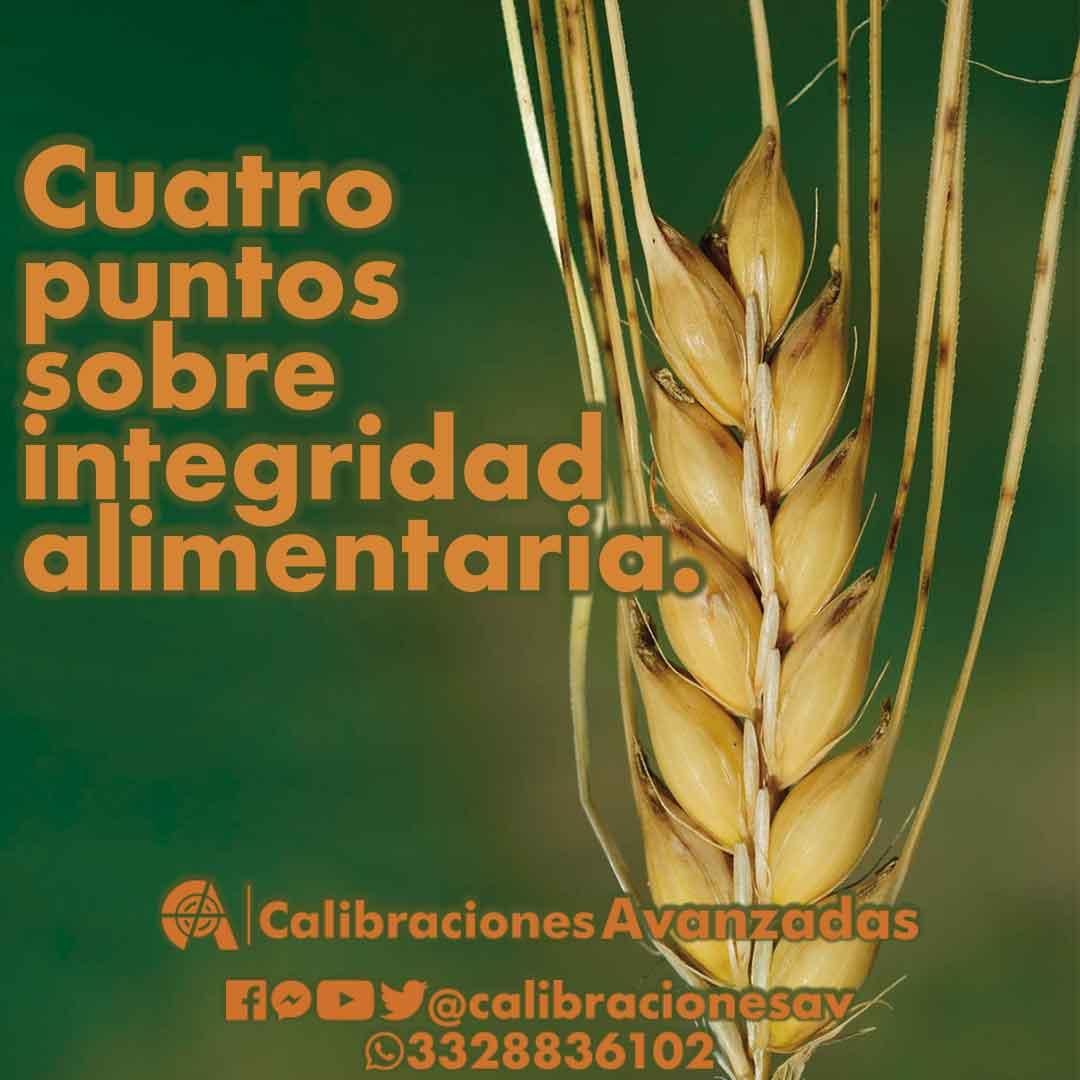 Integridad Alimentaria - Instrumentos alimentarios