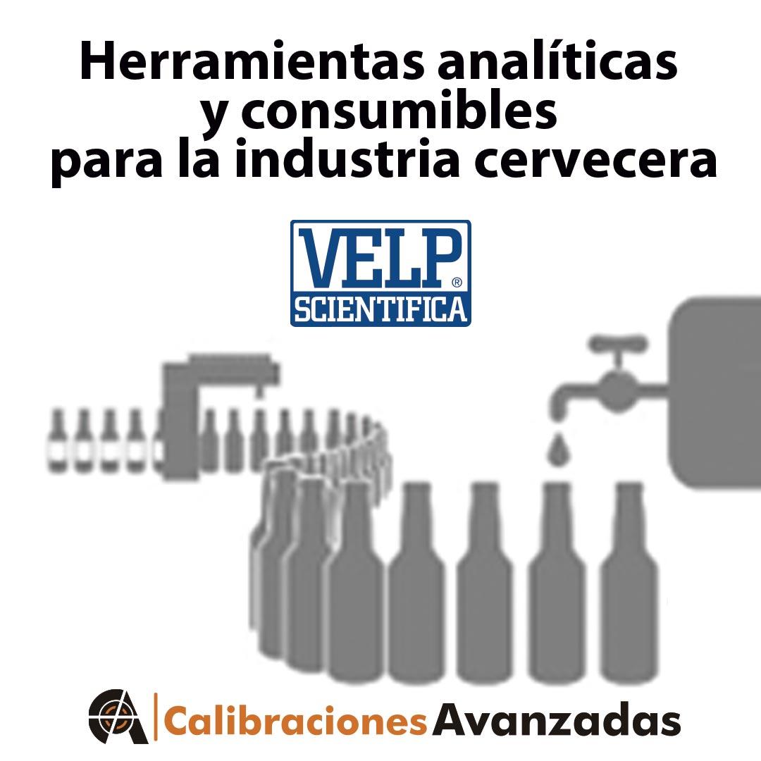 Instrumentos analíticos y consumibles industria cervecera