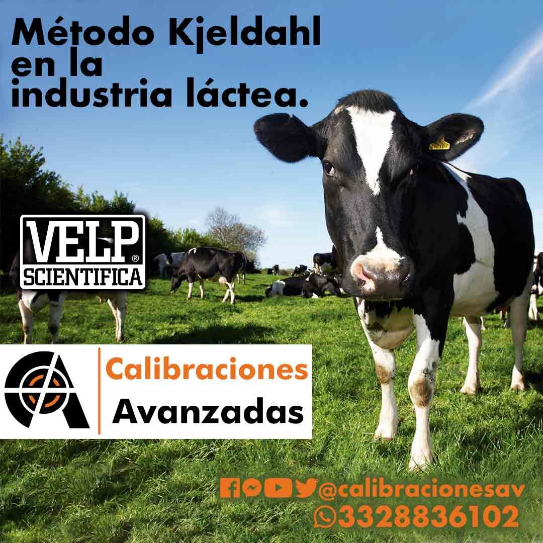 Método Kjeldahl en la industria láctea