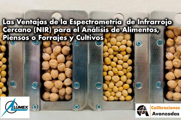 """Seminario Web: """"Las Ventajas de la Espectrometría de Infrarrojo Cercano (NIR) para el Análisis de Alimentos, Piensos o Forrajes y Cultivos"""